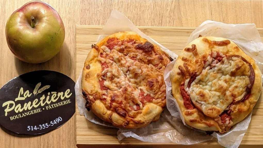 deux pizzettes Boulangerie La Panetière Lunchs pour la rentrée scolaire