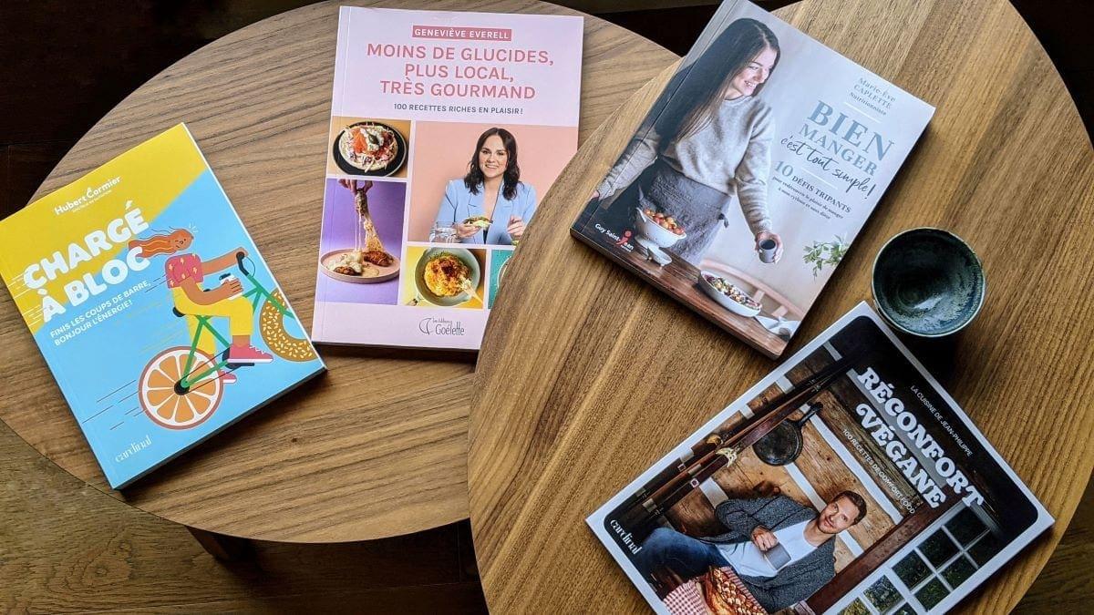 Des livres de recettespour changer son mindset
