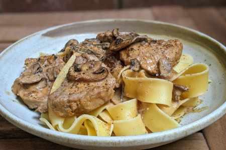porc stroganoff