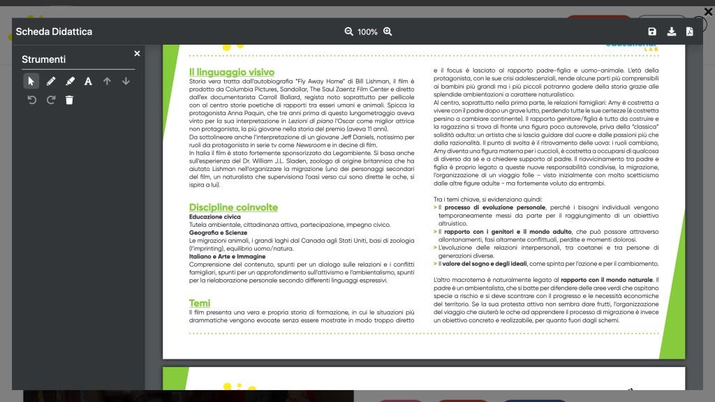 Screenshot Cineducational Lab - 4