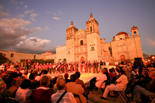 Oaxaca, Santo Domingo, Dave Millers Mexico