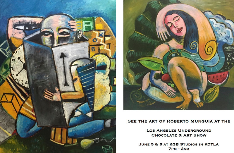Roberto Munguia, Art, Los Angeles, Chocolate and Art Show