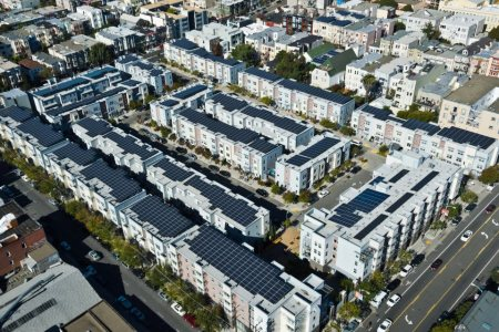 Mission Housing Development Corporation | Valencia Gardens solar panels