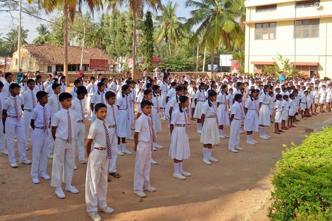 Rassemblement Ecole de Ganjam