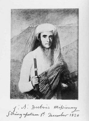 Portrait Abbé Dubois 1820