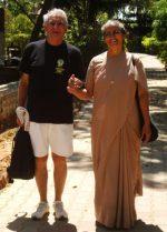 Marc et Sister Meera