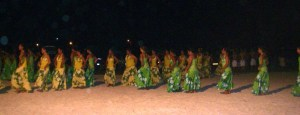28. Bora Bora locals from the dance troup, Faanui, practice Polynesian dances for a Heiva starting Friday, June 19.