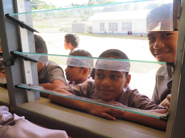 126. Many students from the Vava'u Side School wished to participate in the Skype session, but it was only available to the 6th grade students