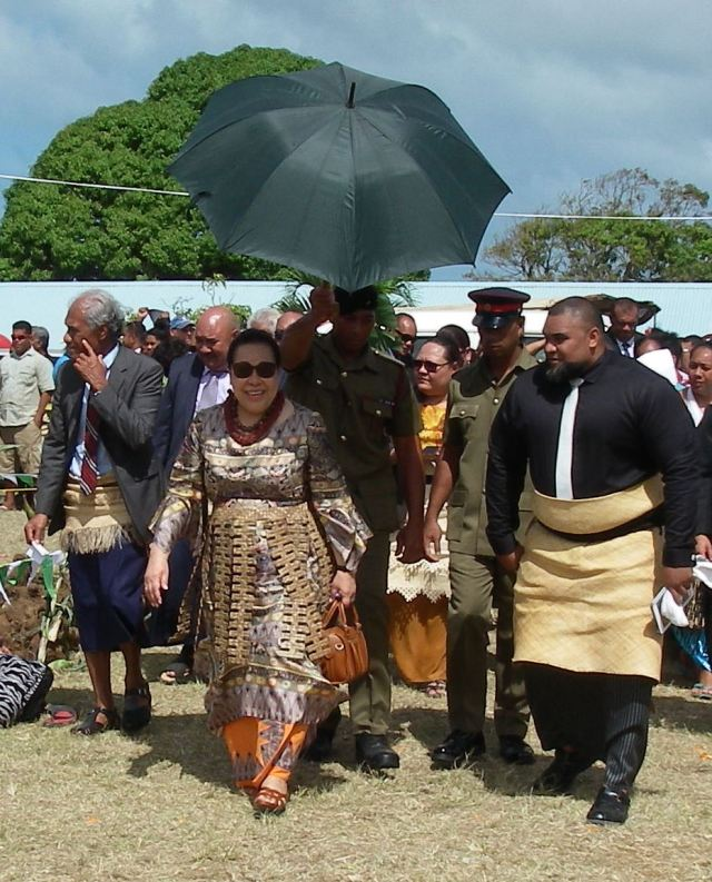93. The Queen of Tonga and her entourage enjoyed the bounty of their country and the loyalty of their subjects. copy