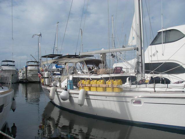 12. Joyful at Southport in the marina