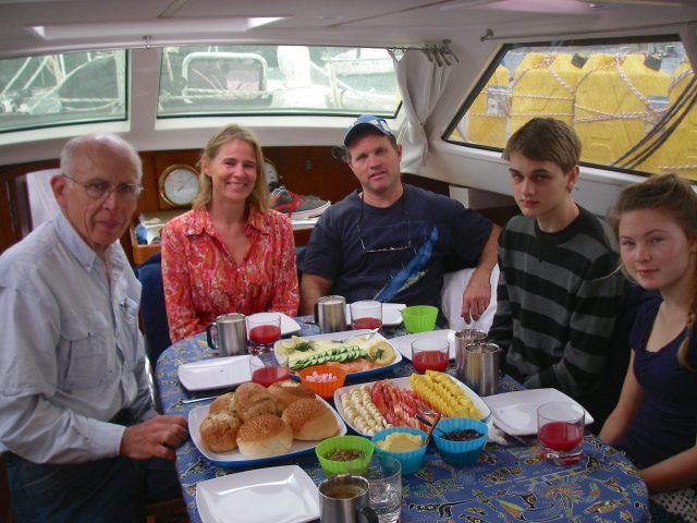 14. One of the nice sailing missionary familes we met in Bora Bora stayed a week on Joyful with us while visiting us in Pittwater .JPG