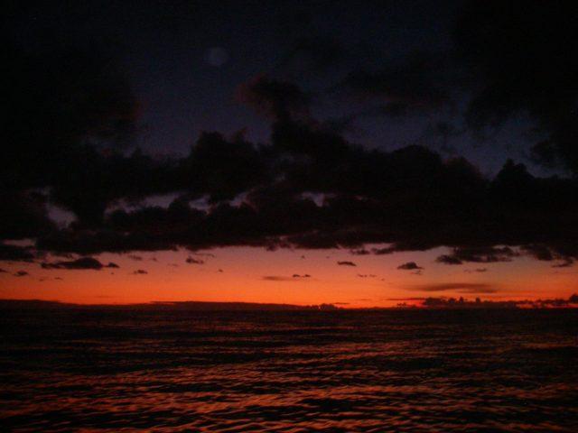 40. A peaceful sunset from Joyful