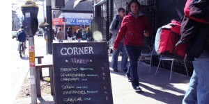 The Corner Restaurant focuses on earthy tastes.