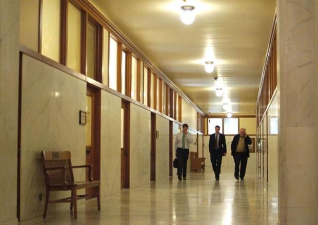 Furloughs mean empty halls