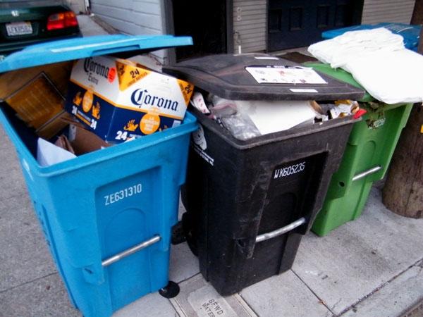 Newsom's Trash Math: Fewer Cans = Less Trash?