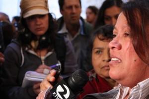 Elena Muniz speajs about her daughters case.