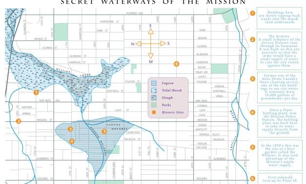Biking the Mission's Waterways