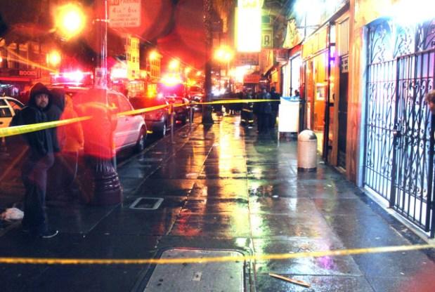 Police on the scene of a crime. File photo by Octavio Lopez Raygoza.