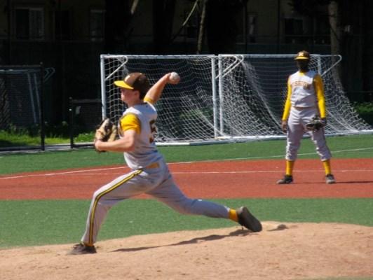 David Johnson throwing a pitch.