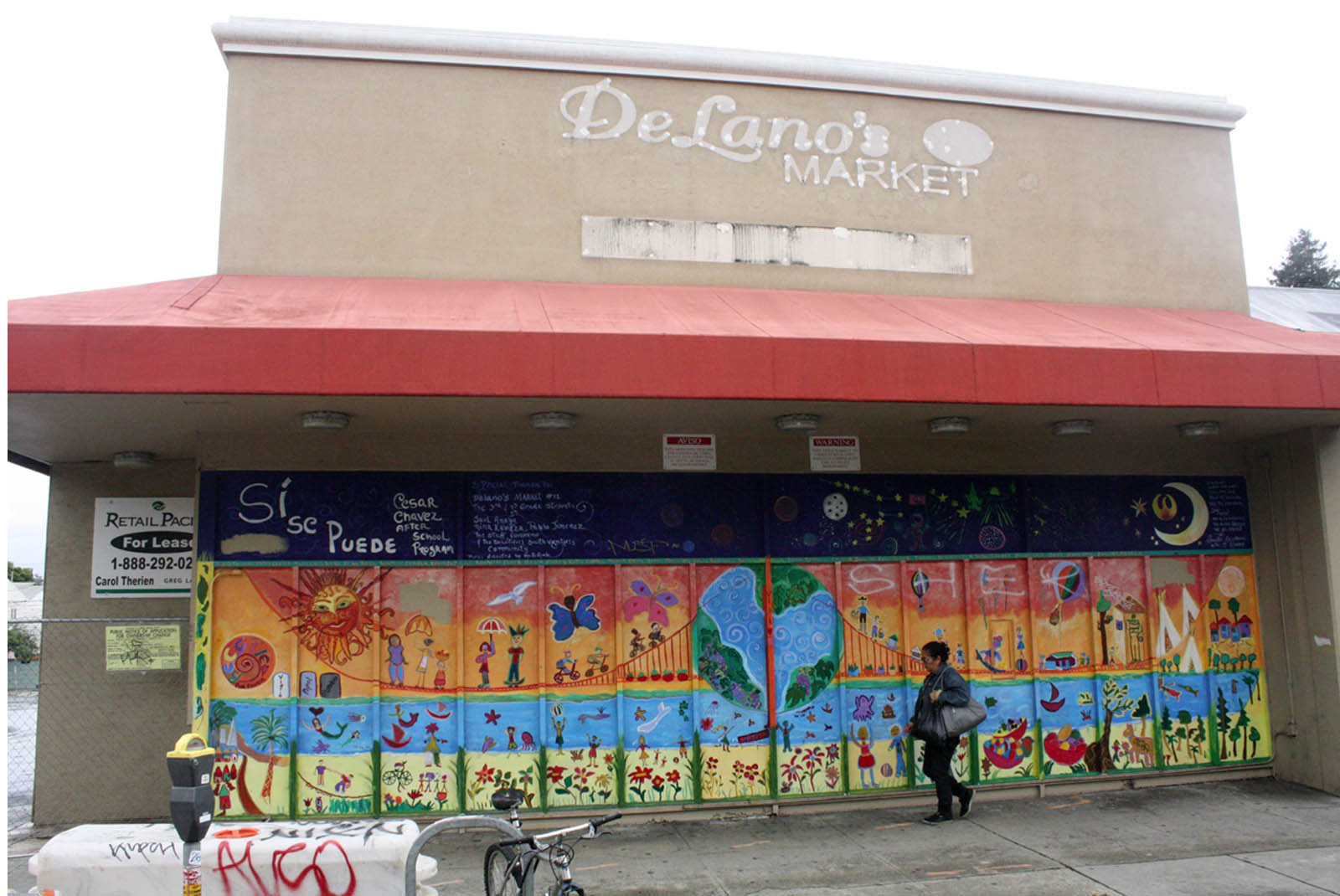 Fresh & Easy will move in the former DeLano's supermarket location