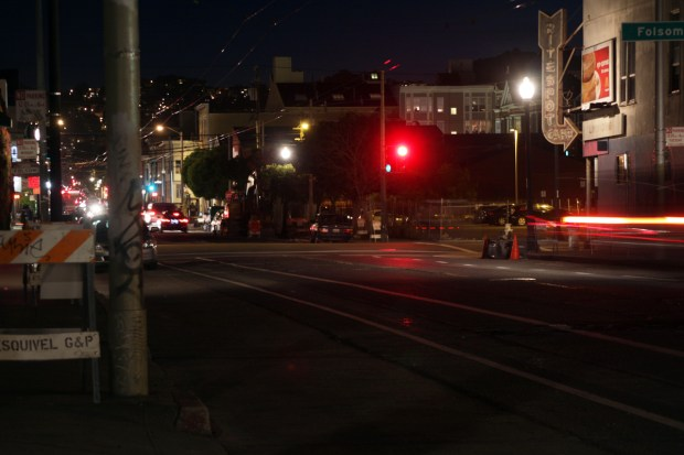 17th Street, from Mission Street to Treat Avenue, has been identified as a poorly lit street by the public utilities company.