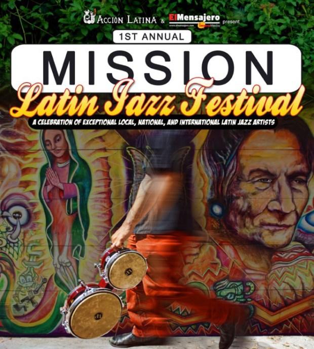 event poster for Latin Jazz Festival