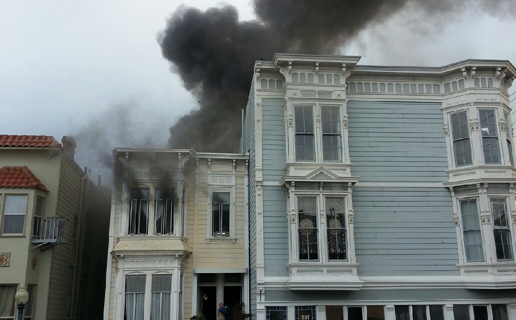 Three-Alarm Fire at 23rd and Capp Displaces More Than 20 People