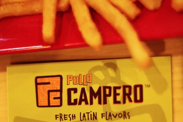 El logo de Pollo Campero. Foto por Claudia Escobar.