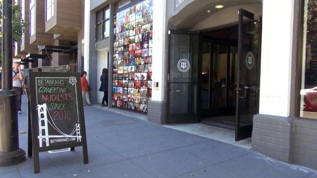 Betabrand, at 780 Valencia Street