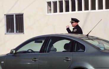 Chief Greg Suhr arrives on scene