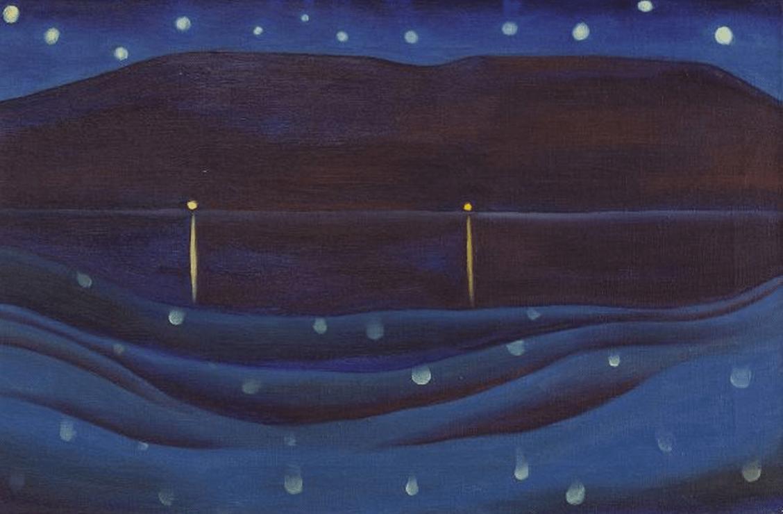 Starlight Night, Lake George, 1922.