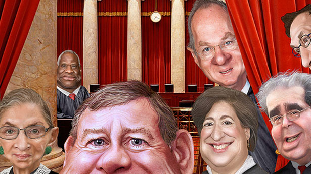 Supreme Court Justices from rawstory.com