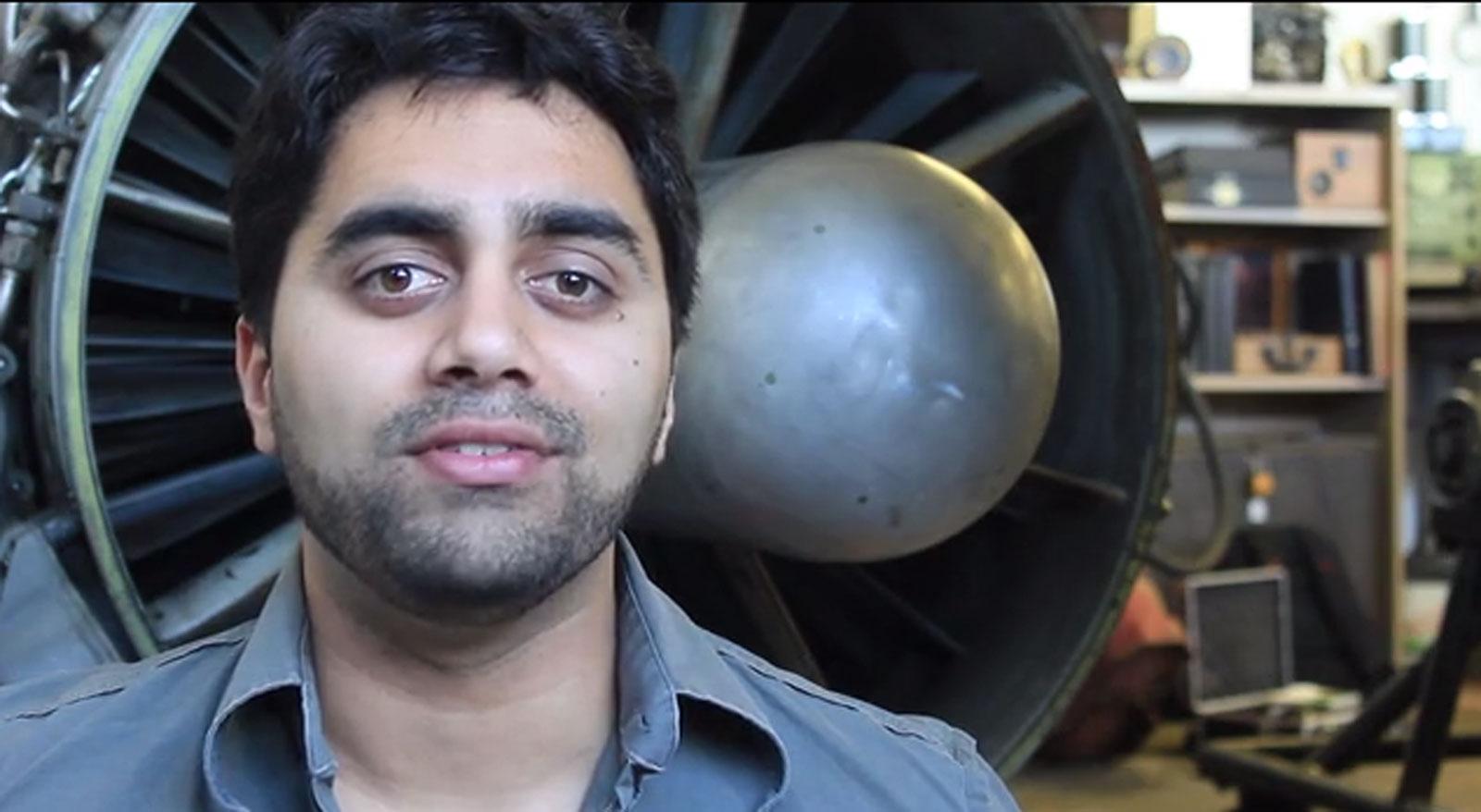 Photo from Kunal Dovedy's Kickstarter video. http://www.kunaldovedy.com/