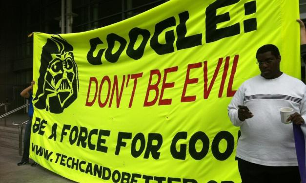 Live Blog: Google I/O Protest