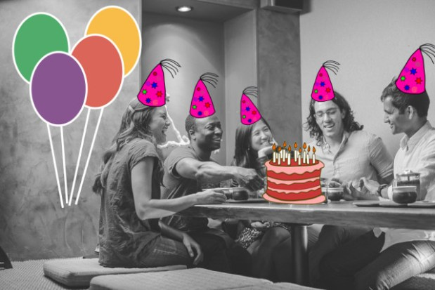Birthday With Strangers, a massive celebration for San Franciscans with summer birthdays, will take place on Saturday, August 30 from 1-4 p.m. at Dolores Park. Photo courtesy of Evan Robinson from Tea With Strangers. Edited by Amulya Aradhyula.