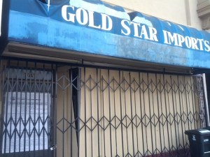 Gold Start Imports on Mission Street could become another T-Mobile. Photo by Daniel Hirsch.