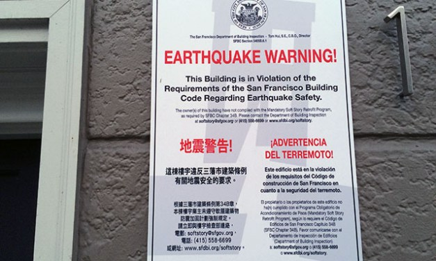The Great Earthquake's Marks on the Mission Are Still There – If You Know Where to Look