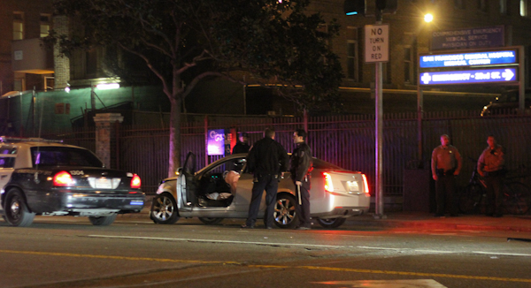 Pursuit Ends in Hit and Run at 23rd and Potrero