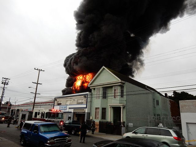Dozens Displaced by SF Mission Fire in Limbo