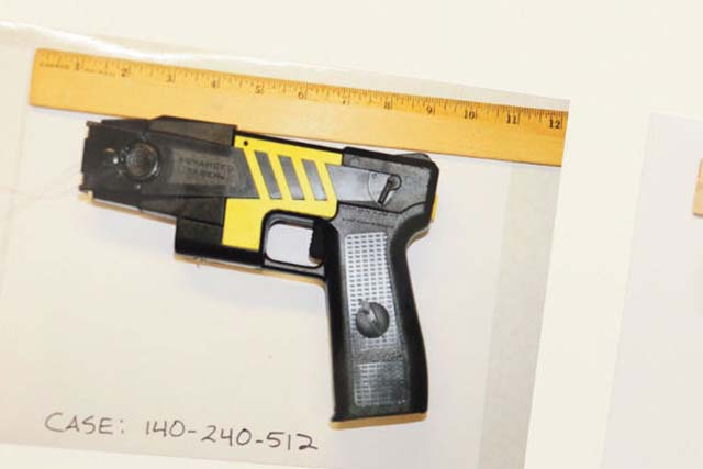 Lawyers Wrangle Over Taser Evidence in Nieto Trial