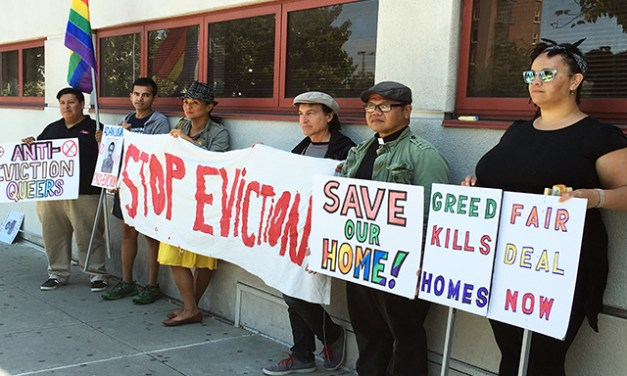 Queer Activist Collective Under Threat of Eviction Fights to Save Home