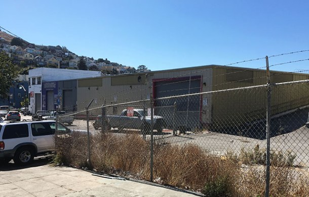 The site of the planned affordable senior housing at 1296 Shotwell Street. Photo by Sonner Kehrt