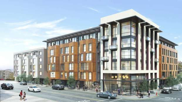 The proposed development at 1515 South Van Nes Ave. Design by BDE Architecture.