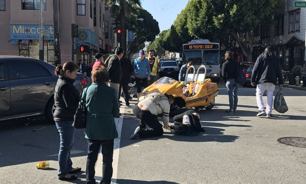Two Thrown from Open Air GoCar in Crash on 24th Street