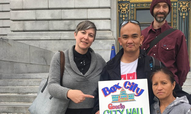 SF Homeless Advocates Propose Legal Encampment