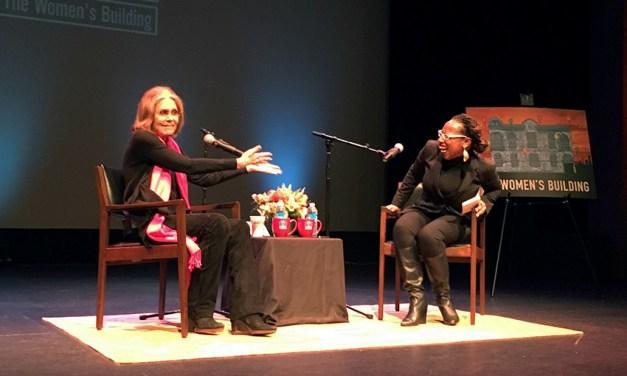 Feminist Icon Gloria Steinem Speaks to the Mission