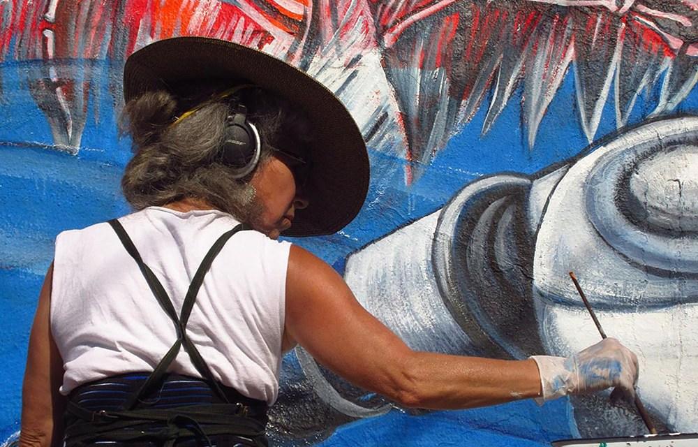 Works of Local Artist Juana Alicia Displayed at Berkeley Center