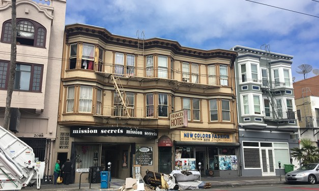 Early morning fire displaces four from Mission District SRO
