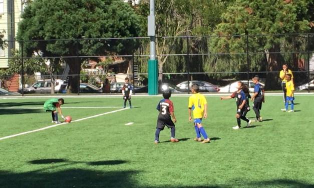 A day at Garfield Park where el futbol reigns