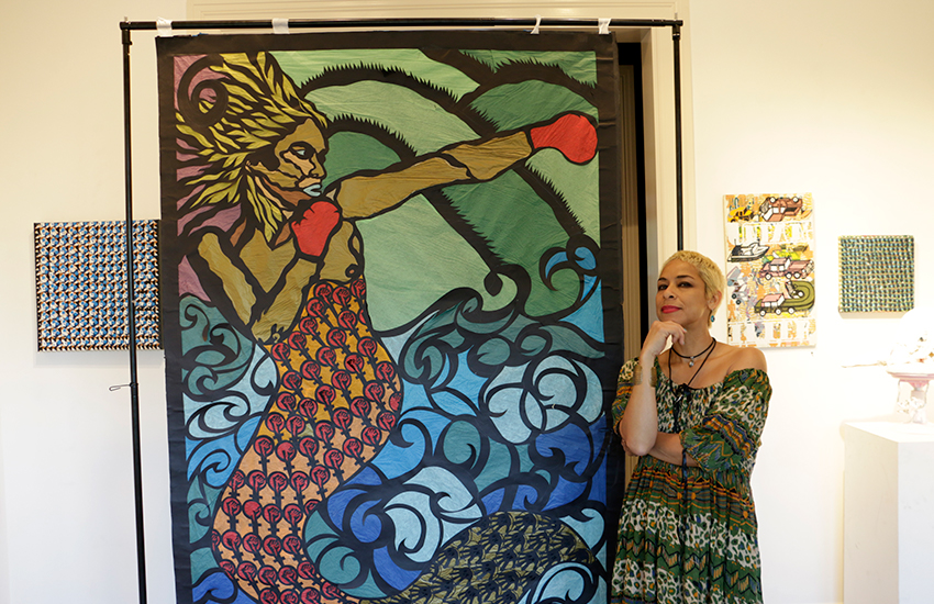 SF artist turns Mexican craft into an art form